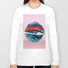 ACRYLIC BALL ABSTRACT // 3D ABSTRACT Long Sleeve T-shirt