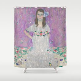Mäda Primavesi by Gustav Klimt Shower Curtain