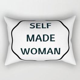 SELF MADE WOMAN Rectangular Pillow