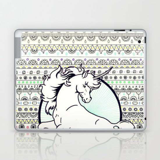 Unicorn Party Laptop & iPad Skin