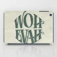 whatever iPad Cases featuring Whatever by MrRed