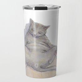 Drunk Kitty Travel Mug