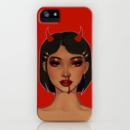 hotter than hell iPhone Case