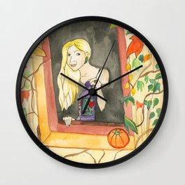 Autumn Lantern Wall Clock