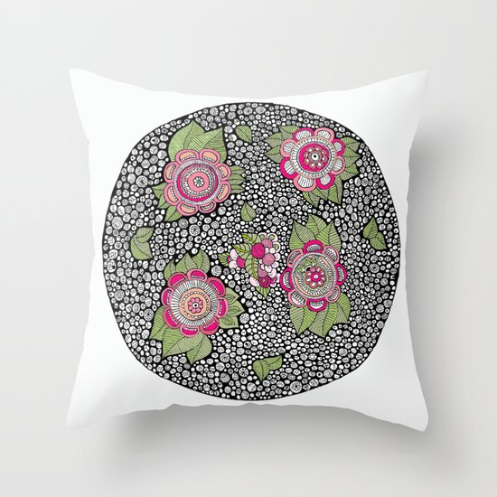 Kaori Throw Pillow