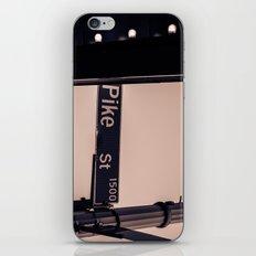 Corner of Pike iPhone & iPod Skin