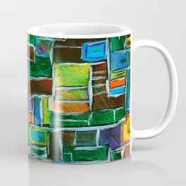 Oil Stains #Abstract #OilPainting #Expressionism Coffee Mug