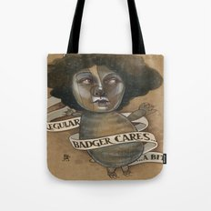 REGULAR BADGER Tote Bag