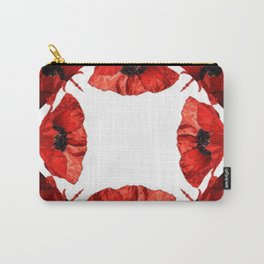 Poppy Mirror Carry-All Pouch