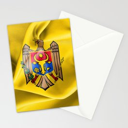 Moldova Flag Stationery Cards