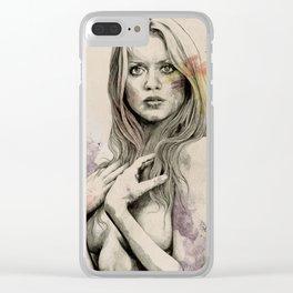 Gloria Clear iPhone Case