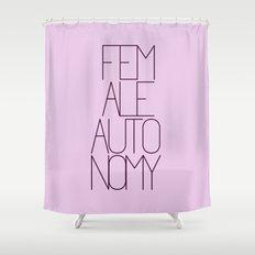 Fem-Auto Shower Curtain