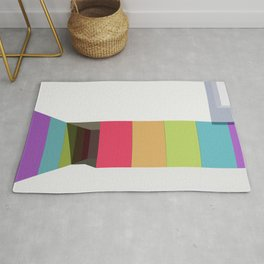 vector 3d Arch Light&shadow Rug