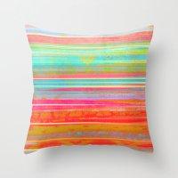 hawaii Throw Pillows featuring Hawaii by Fernando Vieira
