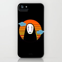 No Face a Lonely Spirit iPhone Case