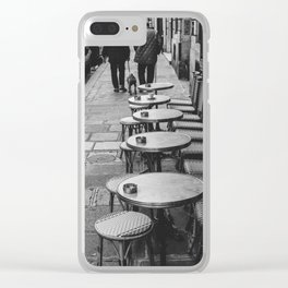 Paris Clear iPhone Case