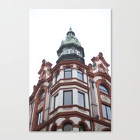 oslo Canvas Prints featuring Oslo by thebetterview