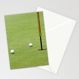 Golf Pin Stationery Cards