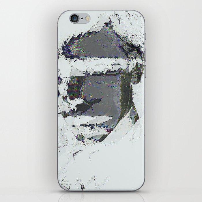 summer glitch iPhone Skin