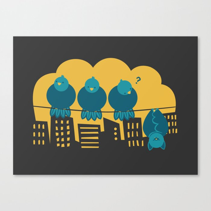 Three plus one Canvas Print