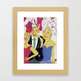 He Was A Real Ladies Man Framed Art Print
