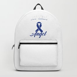 My Hero Is Now My Angel Liver Cancer Awareness  Backpack