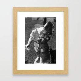 Gothic Angel Framed Art Print