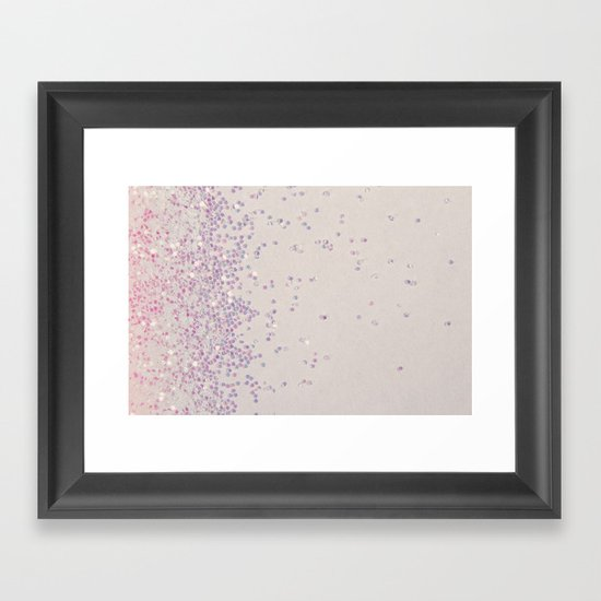 My Favorite Color (NOT REAL GLITTER - photo) Framed Art Print