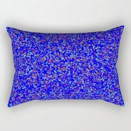 every color 082 - true blue Rectangular Pillow