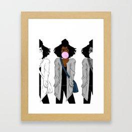 judging you (multi) Framed Art Print