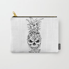 Skull Pineapple Fruit Carry-All Pouch