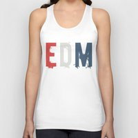 edm Tank Tops featuring EDM by DropBass