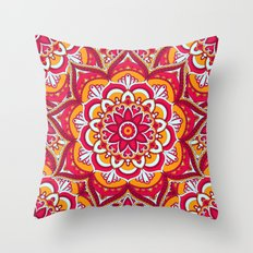 Mandala 25 Throw Pillow