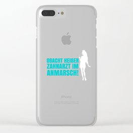 Dentist Clear iPhone Case