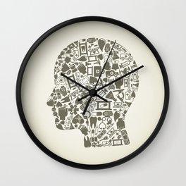 Head medicine Wall Clock