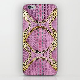 Pink Spotted Cheetahs iPhone Skin
