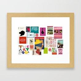 LiterARTure Framed Art Print