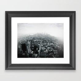 Lower Manhattan (NY) Framed Art Print