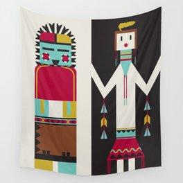 Kachina Dolls Wall Tapestry