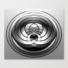 Modern Me Spiral Canvas Print