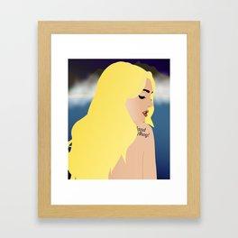 Land Ahoy! - Girl Framed Art Print