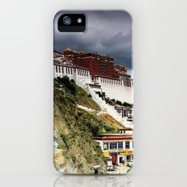 Gorgeous Antique Potala Palace Lhasa Tibet China Asia Ultra HD iPhone Case