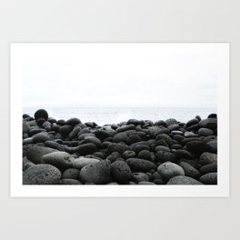 Black Rock Beach Art Print