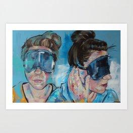 Sightless Art Print