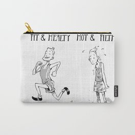 Fit and Healthy Hot and Filthy Carry-All Pouch