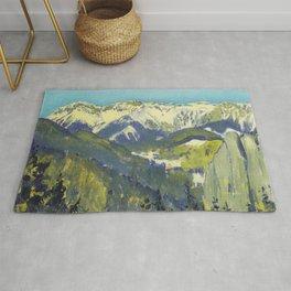 Koloman Moser Landscape of Semmering Rug