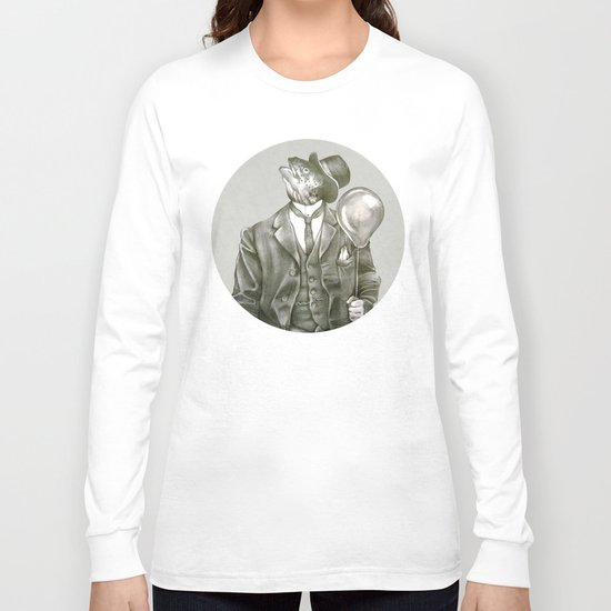 In which a dapper fish is encircled Long Sleeve T-shirt