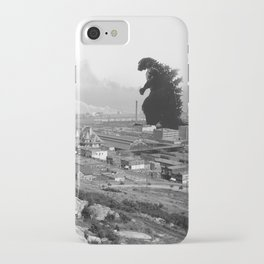 Old Time Gojira iPhone Case