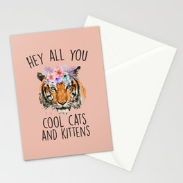 Hey All You Cool Cats And Kittens Stationery Cards