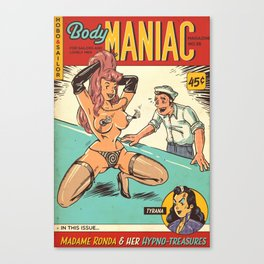 Hobo and Sailor. Body Maniac Canvas Print